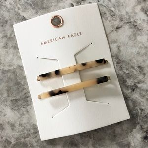 American Eagle Hair Pins Tortoise Shell Bobby Pins